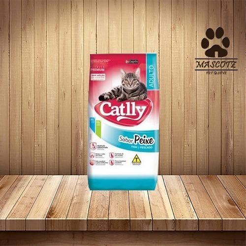 Catlly Premium 25 Kq - Sabor Peixe
