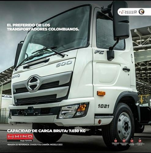 Hino Fc 500 Camion  New 2022 Euro 5 Freno Aire 100% Negociab