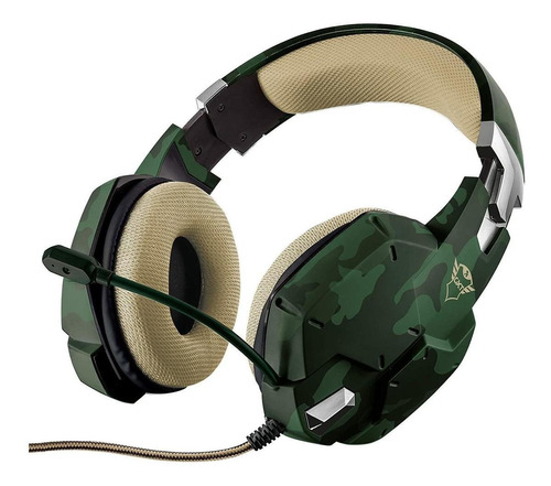 Audífonos Trust Carus Jungle Camo