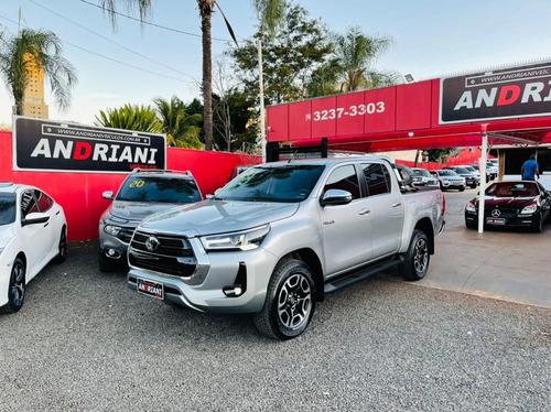 Toyota Hilux Srx 2.8 Prata 2021