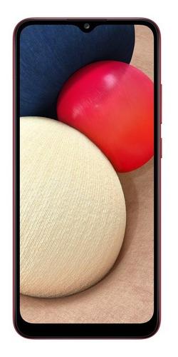 Smartphone Samsung Galaxy A02s Tela 6.5 32gb 3gb Ram Verm