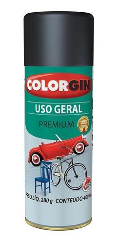 Tinta Spray Uso Geral Colorgin Metais, Madeira, Artesanato