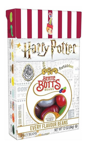Balas Harry Potter Beans Feijões Todos Sabores Jelly Belly