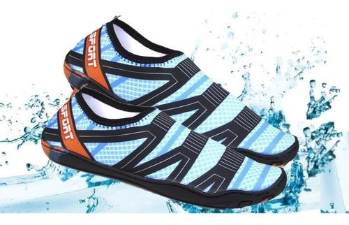 Tenis Sapatilha Nautica Mergulho Natação Esportes Agua Mares