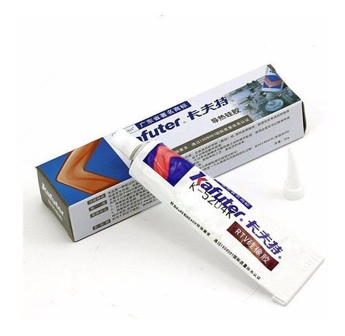 Pasta Termica Silicon Disipadora Adhesiva 80gr C Pega -$20