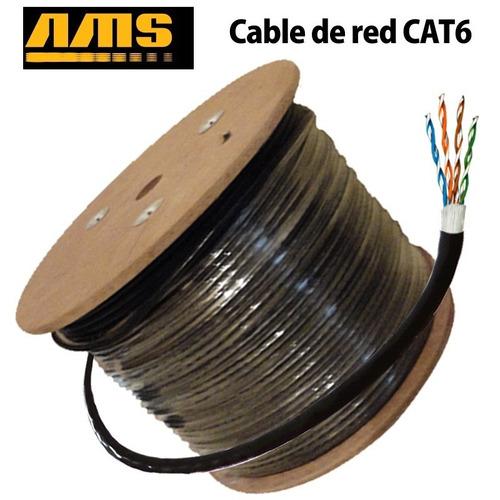 Cable Categoria Cat6 De Intemperie 305 Metros Outdoor