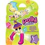 Maleta Polly Pocket 8 Livros Dvd Interativo
