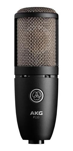 Micrófono Akg P220 Condensador Cardioide Negro