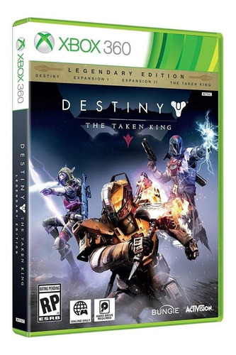 Destiny: The Taken King Legendary Edition Físico Xbox 360 Activision