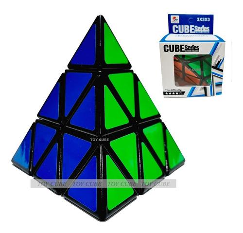 Cubo Mágico Profissional Pyraminx Speed Triângulo Black