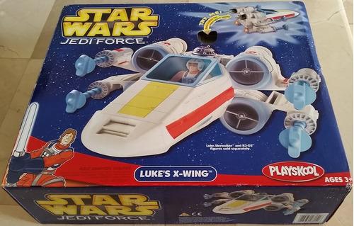 Juguete Nave Star Wars Jedi Force Luke X-wing Hasbro Playsko
