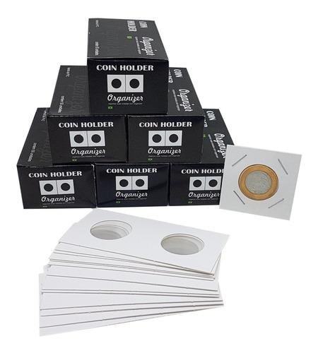 Coin Holder 300 Unidades (6 Caixas De 50un) Várias Medidas