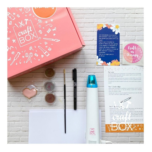 Kit Manualidad Embossing Craftbox