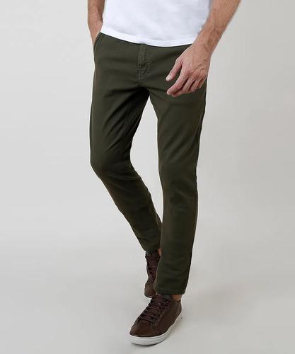 Calça Jeans Sarja C Lycra Masculina Plus Size Tamanho Grande