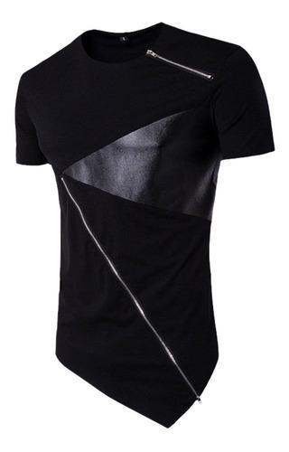 Camiseta Long Line Masculina Oversized Promoção - Só Hoje
