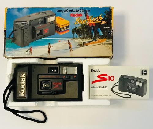 Câmera Kodak S10 Raridade Dos Anos 80 Item Para Colecionador