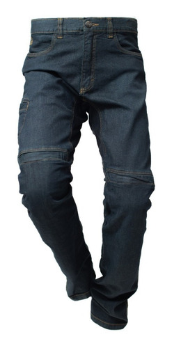 Calça Jeans Com Proteção Motociclista Hlx Spirit Confort