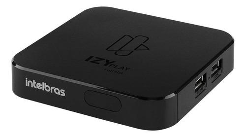 Smart Box Intelbras Izy Play  Full Hd 8gb Preto 1gb
