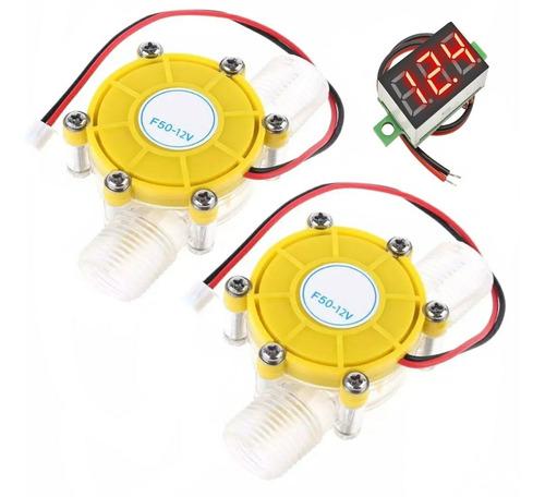Micro Gerador Hidro Eletrico 12v Com Fluxo D'água Com 2 Und