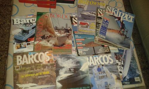 Lote De 12 Revistas Barcos Navegacion