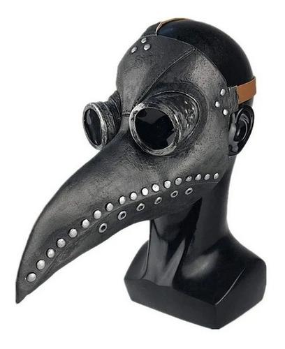 Máscara Médico Peste Negra Com Bico Para Halloween