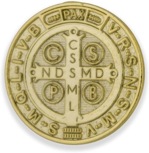Venerare Medalla De San Benito De 1.0 In