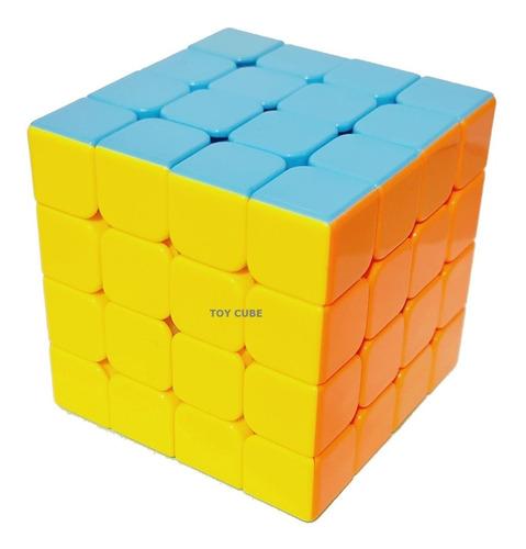 Cubo Magico Profissional 4x4x4 Peças Coloridas