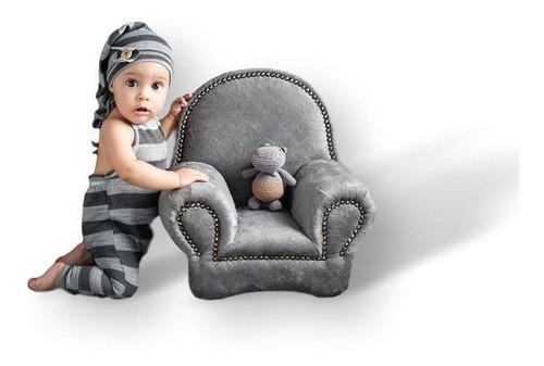 Mini Sofá Prop Fotografia 003 Newborn Recém Nascido Poltrona