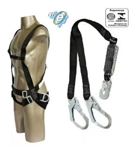 Kit Cinto De Segurança Paraquedista C Talabarte Tipo Y
