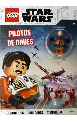 Revista Star Wars Aventuras Espaciais Quadrinhos Boneco Lego