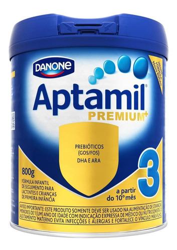 Fórmula Infantil Em Pó Danone Aptamil Premium 3  Em Lata 800g