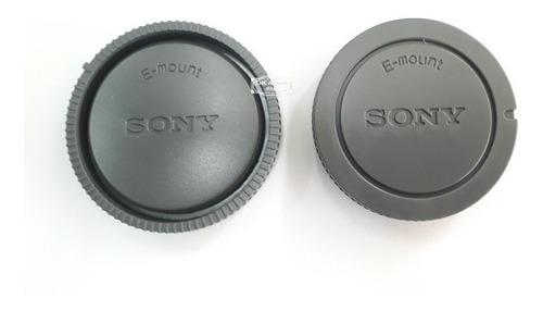 Tapa Sony E - Cuerpo Y Trasera Lente Kit Tapas E-mount