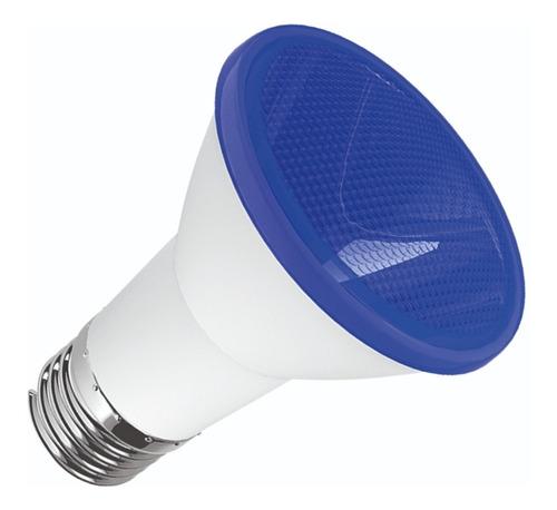 Luminatti - Lâmpada Led Par 20 6w Azul Bivolt Ip65