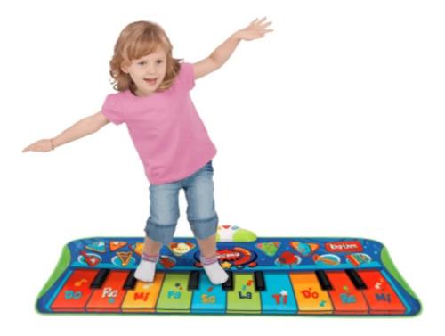 Teclado Piano Musical Tapete Infantil Educativo  Musical