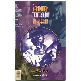 Sandman Teatro Do Mistério-a Vamp - Miniserie Completa 2 Ed