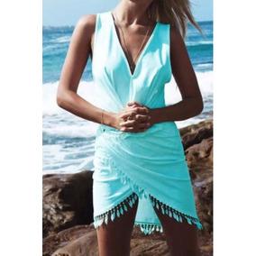 Vestido Verano Corto Playa Borla