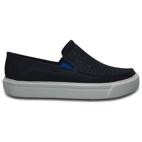 Zapato Crocs Niño Citilane Roka Azul Marino