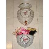 Lavabo Placa Decorativa Vintage De Porcelana Japonesa