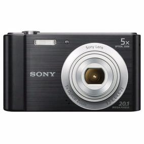 Câmera Sony W800 20.1mp 5x Novo Original Com Nota Fiscal