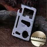 Cartão Canivete Multi Uso 11 Em 1