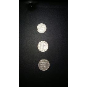 3 Moedas De Reis 100,200 E 300