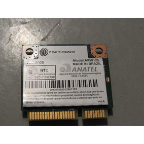 Placa Wifi Wireless Notebook Acer E1 532 Atheros Ar5b125