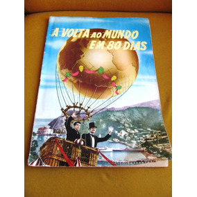 Album Volta Ao Mundo Em 80 Dias Cantinflas Niven Julio Verne