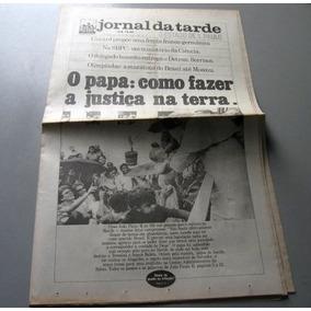 Jornal Da Tarde - Papa João Paulo Ii Brasil - 08/07/1980