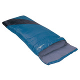 Saco De Dormir Liberty 4ºc A 10ºc Preto E Azul - Nautika