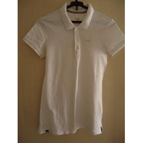 Camisa Polo Feminina Manga Curta Nike M Usada c0f1026d8fdec