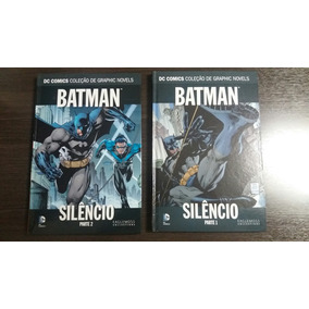 Batman Eaglemoss Silencio Parte 1 E 2