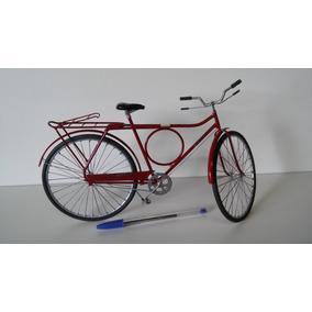 Miniatura De Bicicleta B. Circula. Artesanal. Única.