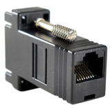 Adaptador Convertidor Extensor D Video Vga A Rj45 Utp Red /e