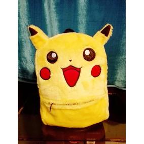 Mochila De Moda Pikachu Pokemon Kawaii Envio Gratis